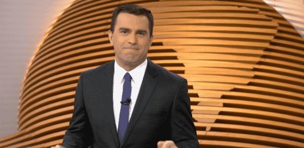 """Rodrigo Bocardi no """"Bom Dia Brasil""""; ele apresentará o """"Jornal Nacional"""" no dia 10 - Reprodução/TV Globo"""