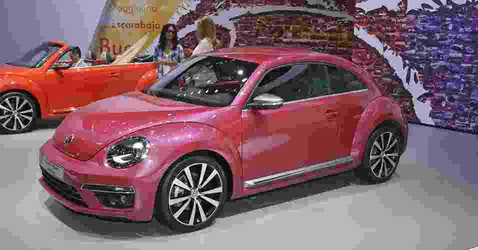 Volkswagen Fusca Pink Colour Edition - Newspress