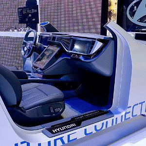 Hyundai conectividade - RICHARD JUILLART/AFP