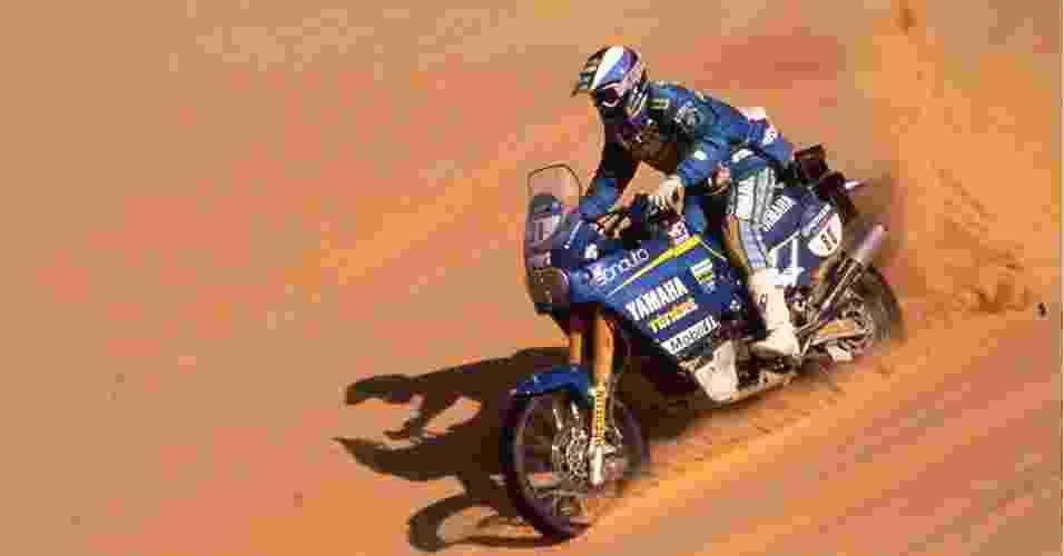 Yamaha Ténéré usada por Stéphane Peterhansel no Rally Dakar de 1997 - Divulgação