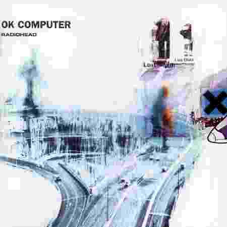 """A capa do álbum """"OK Computer"""" (1997), do Radiohead - Divulgação - Divulgação"""