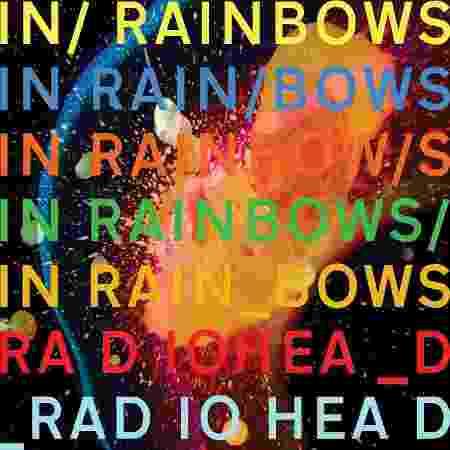 """""""In Rainbows"""" (2007) - Divulgação - Divulgação"""