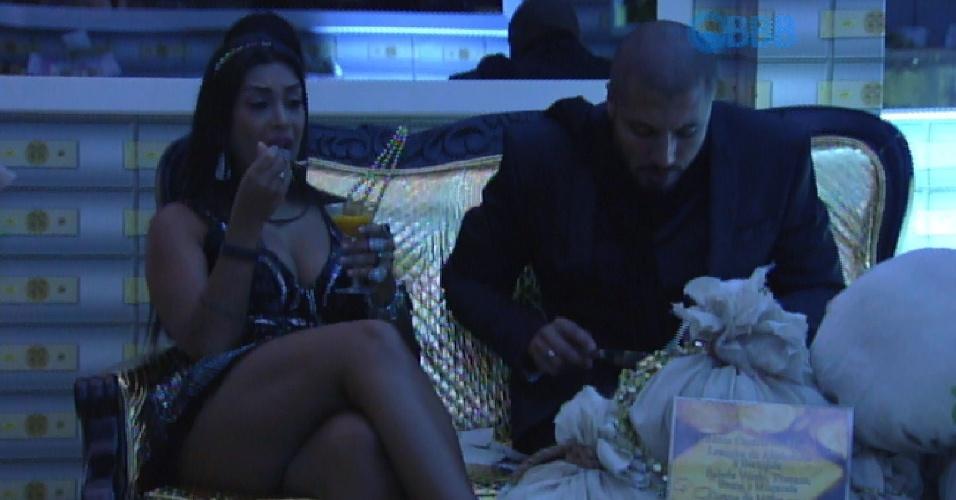 4.abr.2015 - Amanda lamenta paredão com Fernando