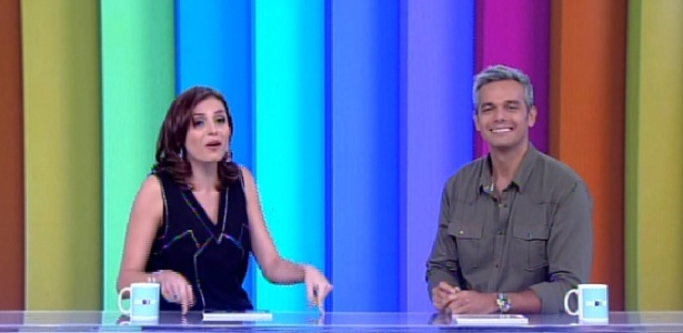 """Monica Iozzi e Otaviano Costa dividem bancada no novo """"Vídeo Show"""" ao vivo"""