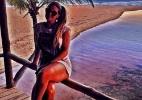 Aline posta foto na Bahia e ignora saída e pedido de desculpas de Fernando - Reprodução/Instagram/alinegoficial