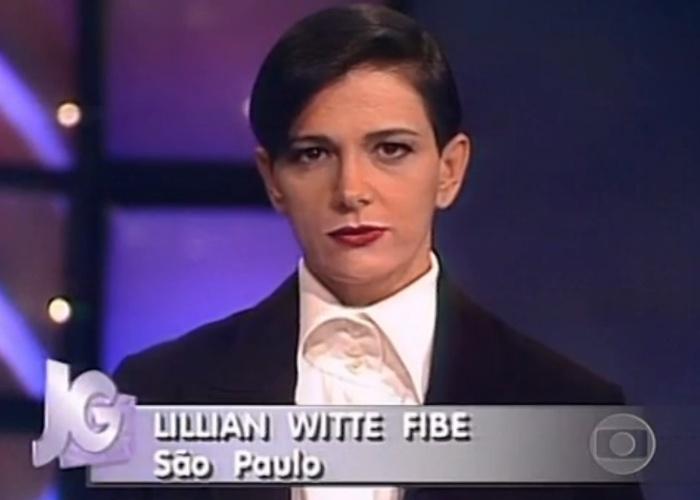 Lillian Witte Fibe no Jornal da Globo