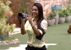 Amanda e Cézar recebem câmera e falam sobre o que acontecia na casa - Reprodução/TV Globo