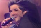 """Daniel canta """"Adoro Amar Você"""" para Amanda na final do """"BBB15"""" - Reprodução / TV Globo"""