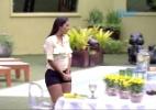 """Brothers ganham almoço e Amanda reclama da demora de Cézar: """"É uma moça"""" - Reprodução/TV Globo"""