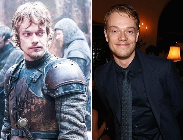 "Alfie Allen é Theon Greyjoy em ""Game of Thrones"""