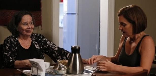 """Celina (Débora Duarte) será tia de Inês (Adriana Esteves) em """"Babilônia"""""""