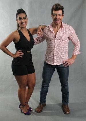 """Amanda e Cézar, a dupla finalista do """"BBB15"""", o segundo pior em audiência da história do reality show"""