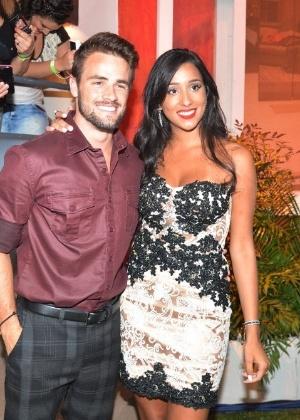 O casal se conheceu durante participação no reality show