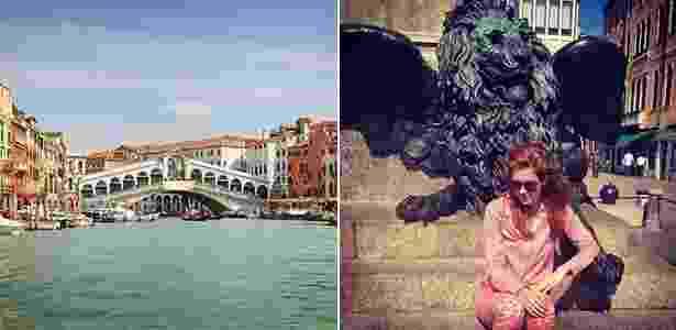 Atriz Sophia Abrahão visita Veneza, na Itália, com a família  - Getty Images/Reprodução/Instagram