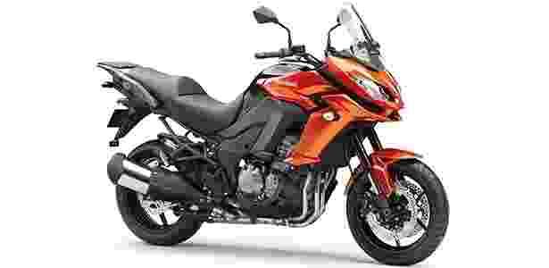 Kawasaki Versys 1000 está mais confortável e convidativa para longas viagens - Divulgação