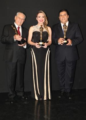 Joseval Peixoto, Rachel Sheherazade e Nascimento, estrelas do jornalismo do SBT - Leonardo Nones/SBT
