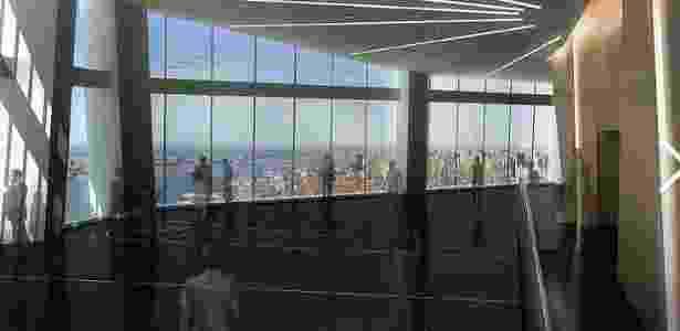 A área de observação ficará entre o 100º e o 102º andar do arranha-céu - Divulgação/One World Observatory