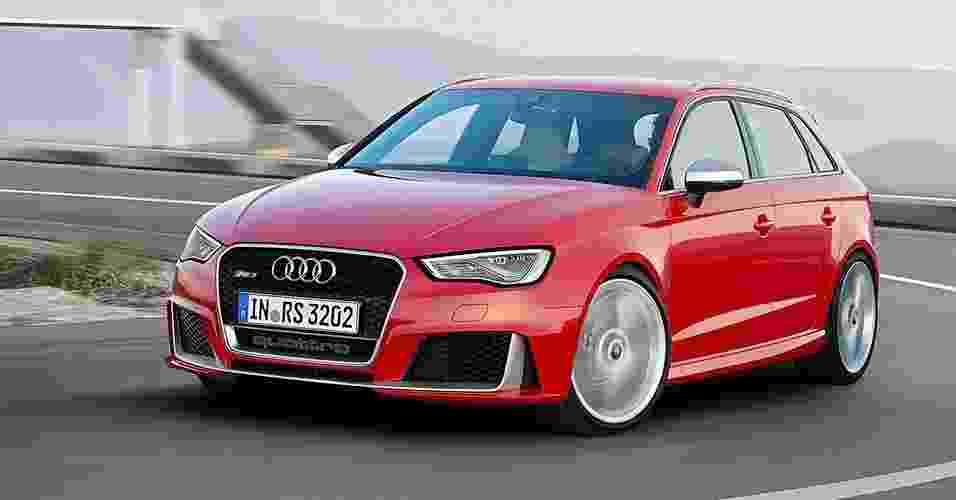 Audi RS3 Sportback 2016 - Divulgação