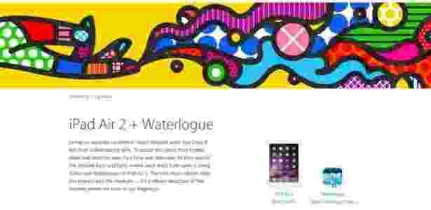 Imagem inspirada em Romero Britto que teria sido usada sem autorização pela Apple - Reprodução/Apple