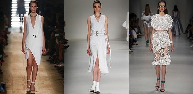 Looks brancos monocromáticos apareceram na Animale, Uma e PatBo - Alexandre Schneider/UOL