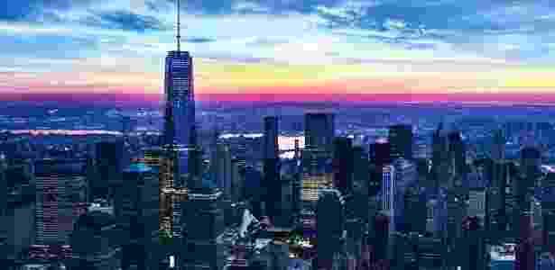 O One World Trade Center é hoje o edifício mais alto do Hemisfério Ocidental  - Divulgação/One World Observatory
