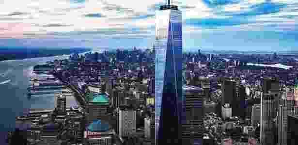 O observatório do One World Trade Center (na foto) será aberto em 29 de maio - Divulgação/One World Observatory
