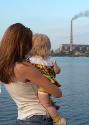 Gestantes e crianças pequenas são mais vulneráveis aos efeitos da poluição - Getty Images