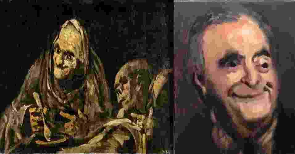 Artista plástico em NY pinta retrato de Cerveró da Lava Jato - Divulgação