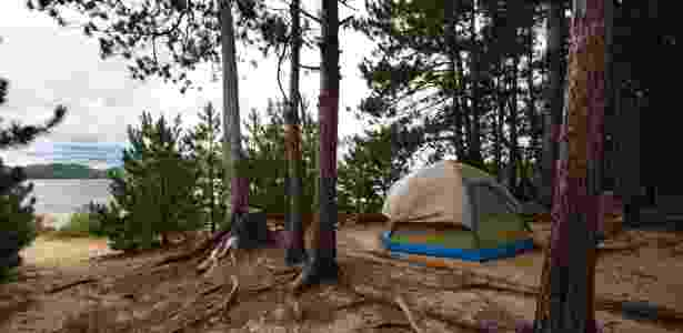 Camping Selvagem - Getty Images - Getty Images