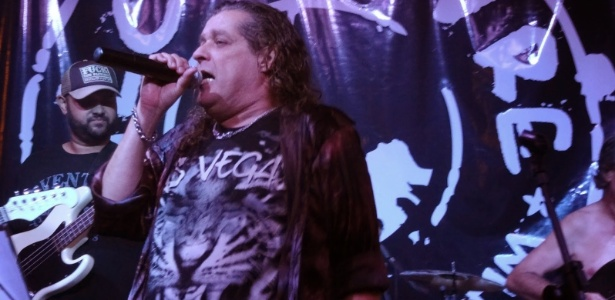 Ex-vocalista do Patrulha do Espaço e do Made in Brazil, Percy Weiss se apresentava em carreira solo - Divulgação