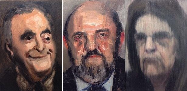 Retratos de executivos da Lava Jato viram obras de arte - Divulgação