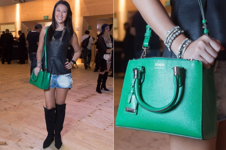 Resultado de imagem para como usar bolsa verde