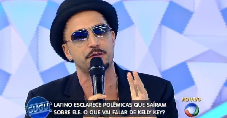 15.abr.2015 - Latino fala sobre os processos movidos contra ele