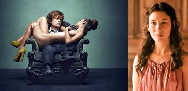 """A atriz Sibel Kekilli, premiada pelo """"clássico"""" pornô hardcore """"Gegen Die Wand"""", participou da série """"Game of Thrones"""" no papel da prostituta Shae na série, amante de Tyrion Lannister. Com o pseudônimo Dilara, Sibel é bem conhecida nos sites adultos"""