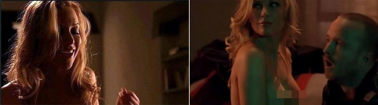 """A série """"Breaking Bad"""" também usou o serviço de uma atriz pornô, Kayden Kross. Ela faz um striptease na casa de Jesse na quarta temporada"""