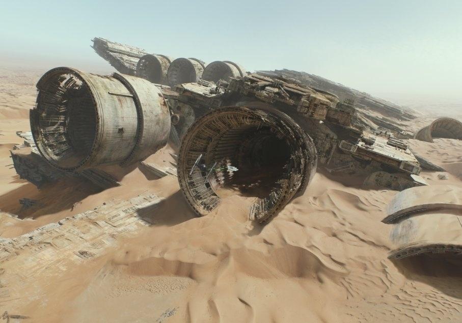 Além do teaser/trailer divulgado nesta quinta (16), a produção liberou novas fotos do longa dirigido por J.J. Abrams