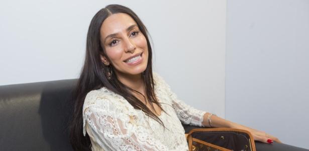 LeaT veio a SP para desfilar para a marca Têca, da estilista e amiga Helô Rocha - Gabriel Quintão/UOL