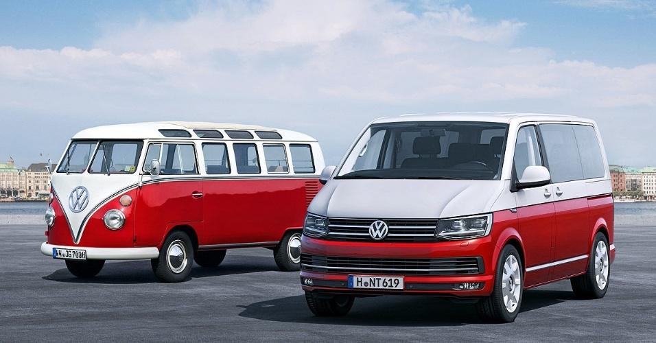 Volkswagen T6 e T2 (a Kombi original)
