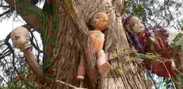 A Ilha das Bonecas fica em uma ilha artificial construída pelos Astecas  - Creative Commons/Troels Myrup - Creative Commons/Troels Myrup