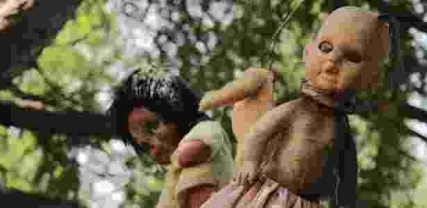São milhares de bonecas espalhadas pela ilha - Creative Commons/Alejandro De La Cruz - Creative Commons/Alejandro De La Cruz