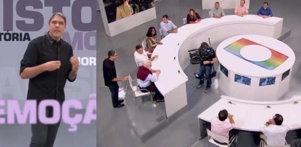 William Bonner comanda especial com grandes jornalistas da Globo reunidos em uma mesa redonda