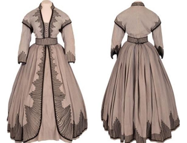 """Um dos vestidos usados por Vivien Leigh quando interpretou Scarlett O""""Hara em """"E o Vento Levou"""" é leiloado - Reprodução"""