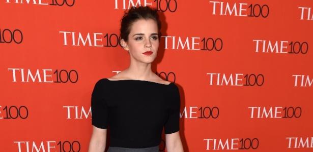 """A atriz Emma Watson, que interpretou Hermione nos filmes da saga """"Harry Potter"""" - AFP"""