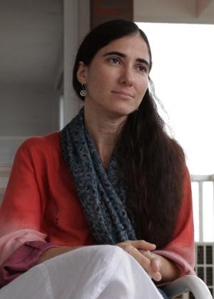 Yoani Sánchez, jornalista cubana