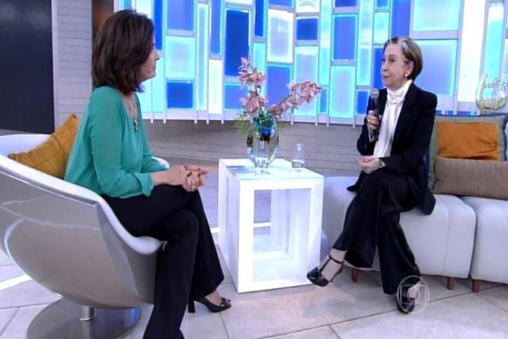 Fátima Bernardes grava participação na novela