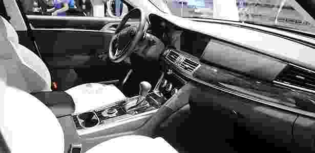 Interior do Volkswagen Gran Santana - Newspress - Newspress