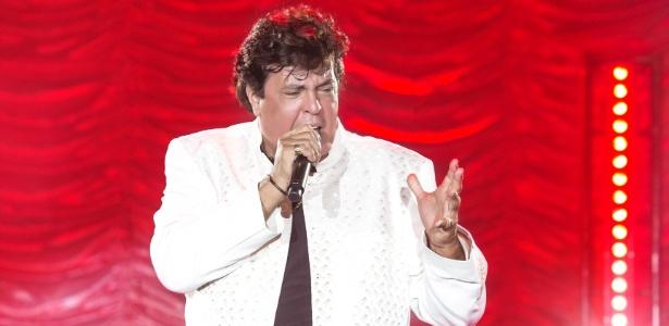 O cantor Sidney Magal sobe ao Palco Arouche às 3h da manhã de domingo (21) - Dario Zalis