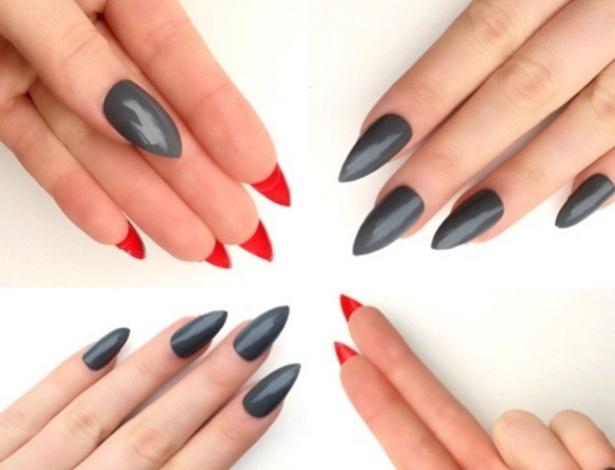 Unhas Louboutin continuam tendência entre amantes de nail art - Reprodução/Instagram/@doobynails