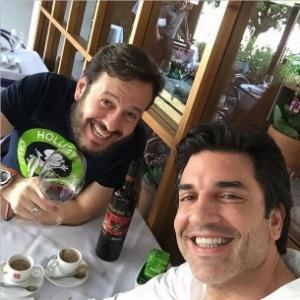 Celso Zucatelli e Edu Guedes - Reprodução/Instagram/eduguedesoficial