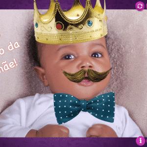 álbum com aplicativos para edição de fotos | Baby Royals | Gratuito | Disponível para iOS (itunes.apple.com/BR/app/id562799011) | O que acha de transformar seu filho em um bebê da realeza? A versão gratuita do aplicativo permite acrescentar coroa, colares e anéis nas fotos das crianças. Ainda há bigode, óculos e charutos. Por pouco menos de US$ 5, o programa desbloqueia adornos egípcios, chapéus e perucas - Montagem/Getty Images